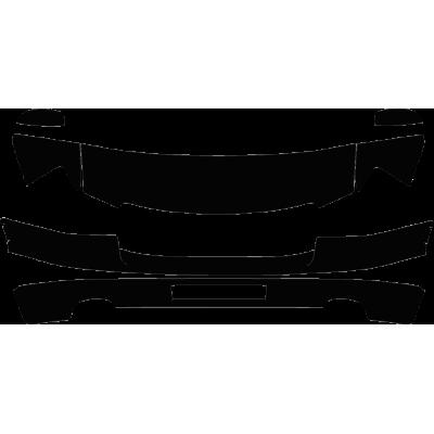 2011-2014 GMC Sierra 2500 3500 Denali 3M Clear Bra Deluxe Paint Protection Kit