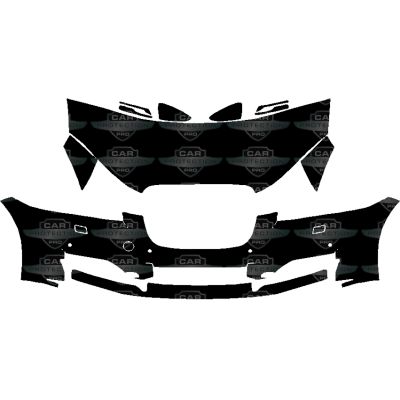 2012-2015 Jaguar XF Base,Portfolio,Supercharged 3M Scotchgard Clear Bra Paint Protection Deluxe Film Kit