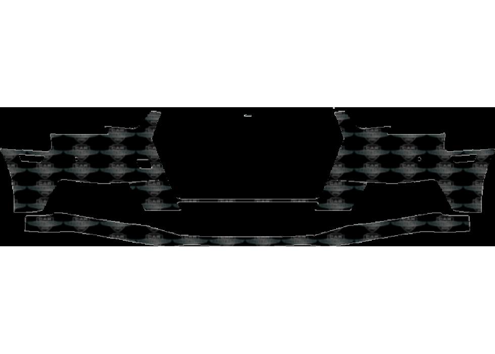 3M Scotchgard Paint Protection Film Clear Bra Pre-Cut 2017 2018 Audi A4 Base
