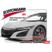 2017-2020 Acura NSX 3M Pro Series Clear Bra Trunk Lid Paint Protection Kit