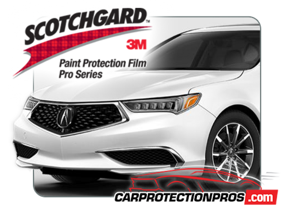 2018 2019 Acura Tlx A Spec 3m Clear Bra Front Bumper Paint Protection Kit