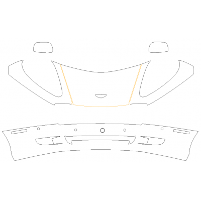 2004-2010 Aston Martin DB9 3M Pro Series Clear Bra Deluxe Protection Kit
