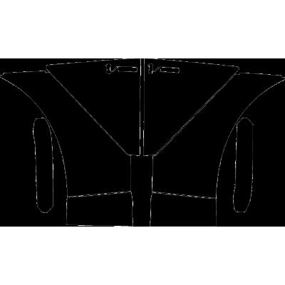 2021 Aston Martin DBX 3M Pro Series Clear Bra Full Fenders Paint Protection Kit