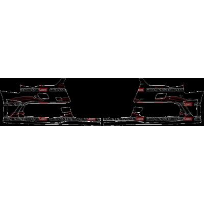 2015-2016 Audi A3 Etron Sportback 3M Clear Bra Front Bumper Paint Protection Kit