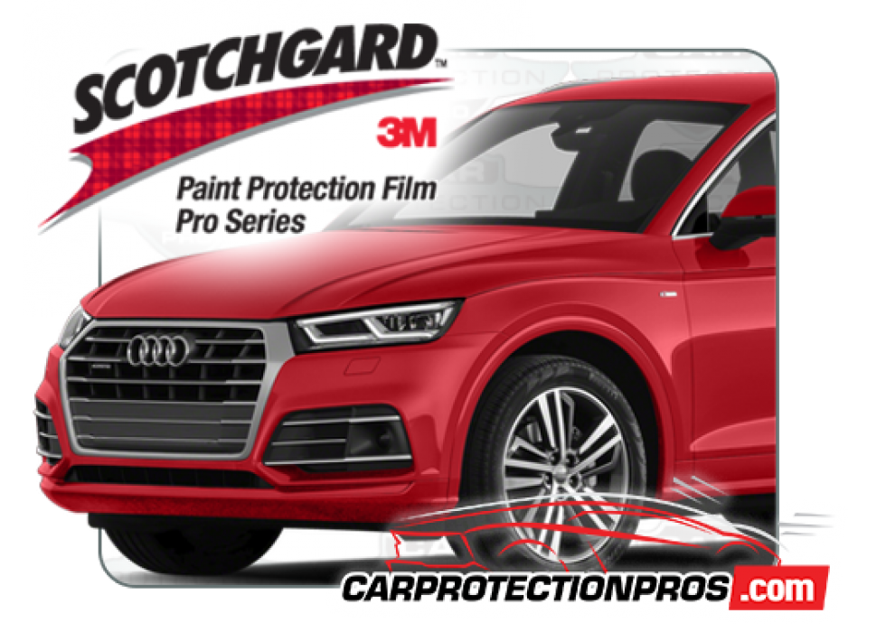 3M Paint Protection Film Clear Bra Partial Hood Fenders and Mirror for Audi Cars
