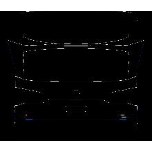 2019-2020 BMW X5 X-Line M-Sport 3M Pro Series Clear Bra Trunk Lid Paint Protection Kit