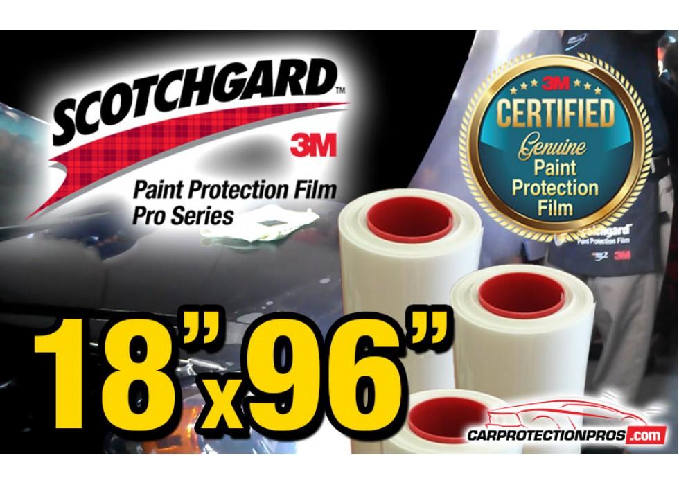 "30/"" x 96/"" New 3M Scotchgard PRO Series Paint Protection Film Bulk Roll"