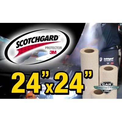 "24"" x 24"" Genuine 3M Pro Series Matte Paint Protection Film Bulk Roll Clear Bra Piece"