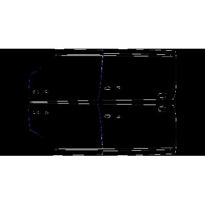 2017-2020 Cadillac XT5 3M Pro Series Clear Bra Doors Paint Protection Kit