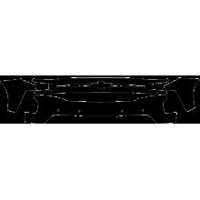 2019-2020 Chevrolet Silverado 1500 LT Trail Boss 3M Clear Bra Front Bumper Paint Protection Kit