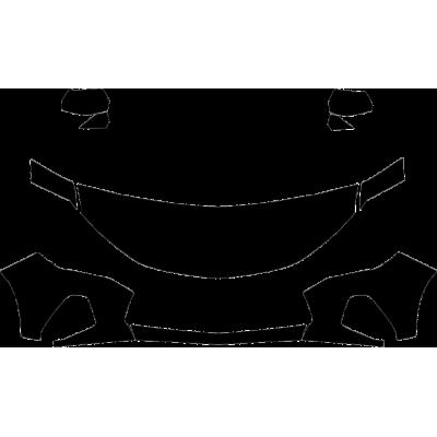 2019-2020 Chevrolet Blazer L 3M Clear Bra Deluxe Paint Protection Kit