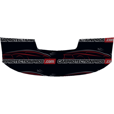 2017-2019 Chevrolet Colorado ZR2 3M Clear Bra Partial Hood Paint Protection Kit