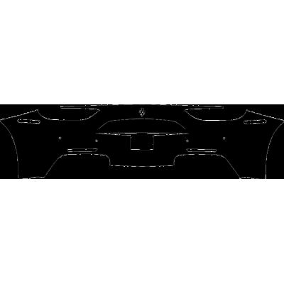 2016-2018 Ferrari 488 GTB, Spider 3M Clear Bra Rear Bumper Paint Protection Kit