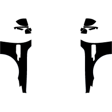 2019-2020 Genesis G90 3M Pro Series Clear Bra Full Fenders Paint Protection Kit