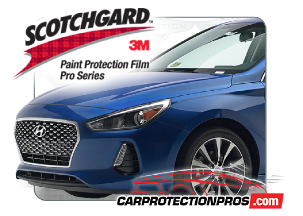 3M Scotchgard Paint Protection Pro Series Fits 2017 2018 Hyundai Elantra Sport