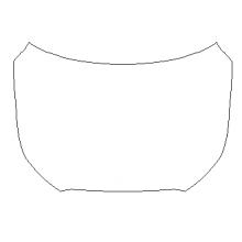 2021 Hyundai Palisade Calligraphy 3M Pro Series Clear Bra Full Hood Paint Protection Kit