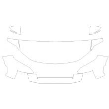 2022 Hyundai Santa Cruz SE, SEL, SEL Premium, Limited 3M Pro Series Clear Bra Deluxe Paint Protection Kit