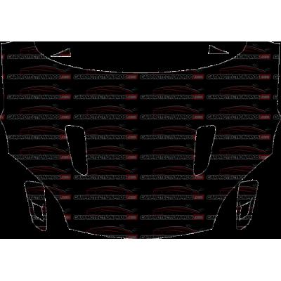 2018 Jaguar F-Type R-Dynamic 3M Pro Series Clear Bra Full Hood Paint Protection Kit