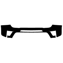 2019 Jeep Renegade Xpel Clear Bra Front Bumper Paint Protection Kit for Order 7789