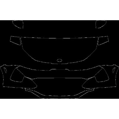 2021 Kia K5 GT, GT Line 3M Pro Series Clear Bra Deluxe Paint Protection Kit
