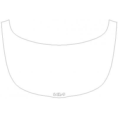2022 KIA Soul GT-Line 3M Pro Series Clear Bra Full Hood Paint Protection Kit