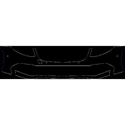 2017-2020 Mercedes E300/E350/E450 Luxury Sedan 3M Pro Series Clear Bra Front Bumper Paint Protection Kit