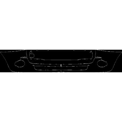 2016-2019 Mini Convertible Cooper, Cooper D 3M Clear Bra Front Bumper Paint Protection Kit