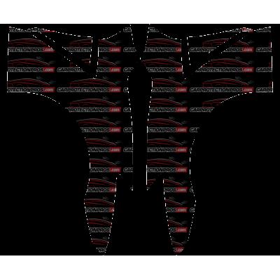 2017-2018 Nissan GT-R Premium 3M Pro Series Clear Bra Full Fenders Paint Protection Kit