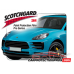2019 Porsche Macan Base, S 3M Clear Bra Rear Bumper Paint Protection Kit