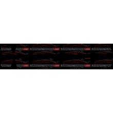 "2019 Ram 2500 3500 Laramie Longhorn Limited 3M Clear Pro Series Bra Mega Cab 6' 4"" Bed Rocker Panel Paint Protection Kit"