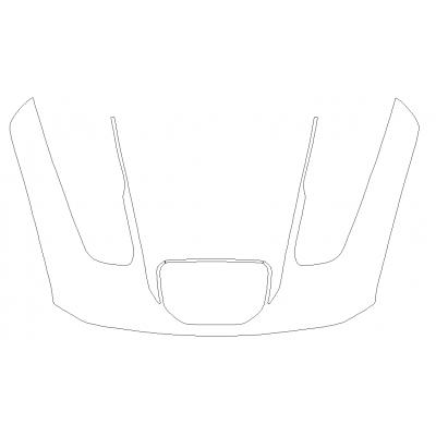 2021 RAM 1500 TRX 3M Pro Series Clear Bra Full Hood Paint Protection Kit