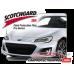 2017-2021 Subaru BRZ 3M Pro Series Clear Bra Standard Paint Protection Kit