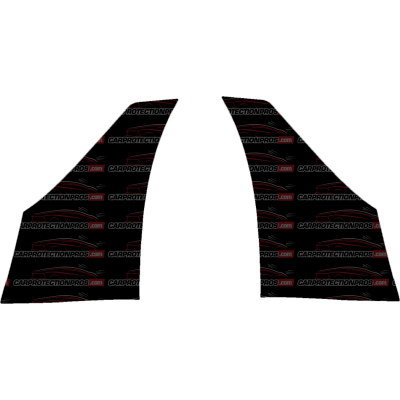 2018 Tesla Model 3 3M Clear Bra Front of Rear Wheel Well Paint Protection Kit
