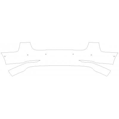 2018-2021 Tesla Model 3 3M Pro Series Clear Bra Front of Rear Bumper Paint Protection Kit
