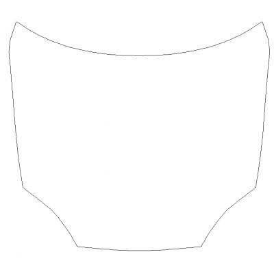 2016-2021 Tesla Model S 3M Pro Series Clear Bra Full Hood Paint Protection Kit