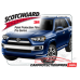 2014-2021 Toyota 4Runner Limited 3M Pro Series Clear Bra Rear Bumper Paint Protection Kit