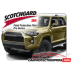 2014-2020 Toyota 4Runner TRD Off Road, 3M Pro Series Clear Bra Standard Paint Protection Kit