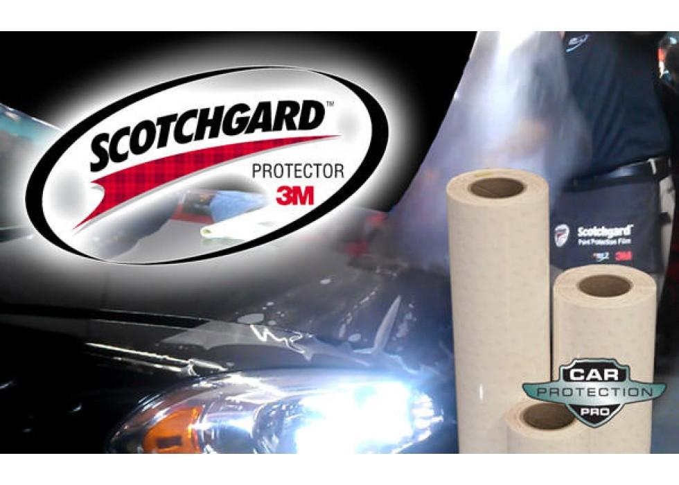 "12/""x 75/"" Genuine 3M Scotchgard Paint Protection Clear Bra Film Bulk Roll Strip"