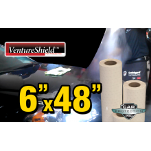 "6"" x 48"" Genuine 3M Ventureshield Paint Protection Film Bulk Roll Clear Bra Piece"