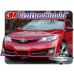 2014 Toyota Camry SE Upper Kit 3M VentureShield Clear Bra Paint Protection Film